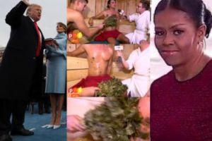 ZDJĘCIA TYGODNIA: Komarenko okładany gałęziami w saunie, USA żegnają Obamę i witają Trumpa