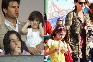 """Tom Cruise nie widział swojej córki... od trzech lat! """"Scjentolodzy WYPRALI MU MÓZG"""""""