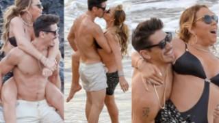 Mariah Carey całuje się z nowym kochankiem na Hawajach! (ZDJĘCIA)