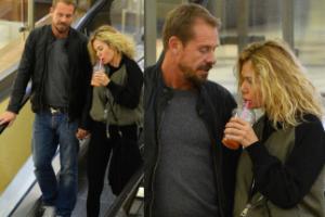 """""""Żona Hollywood"""" i Rinke Rooyens na randce w kinie (ZDJĘCIA)"""