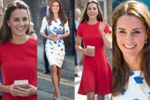 Zobaczcie najnowsze stylizacje Kate Middleton: biała czy czerwona? (ZDJĘCIA)