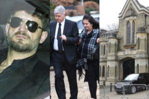 Pogrzeb George'a Michaela: Fadi Fawaz pojawił się na ceremonii! (ZDJĘCIA)