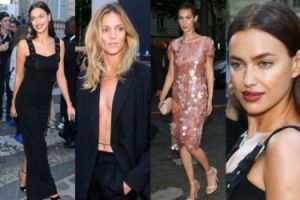 Anja bez stanika, Bella w cekinach i Irina na imprezie w Paryżu (ZDJĘCIA)