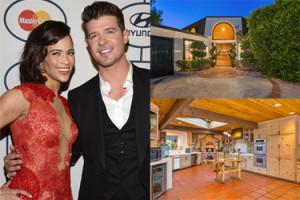 Robin Thicke sprzedaje dom! ZA 3 MILIONY!