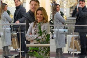 Uśmiechnięci Hania i Tomasz Lis na zakupach (ZDJĘCIA)