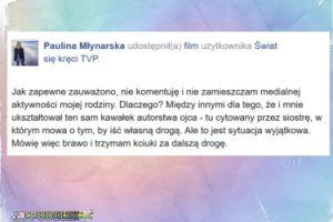 """Paulina Młynarska komentuje pożegnanie Agaty: """"Brawo"""""""