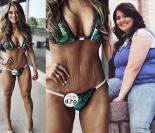 Amerykanka schudła 59 kilogramów i wygrała konkurs bikini: