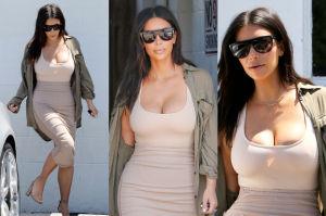 Kim Kardashian chwali się szczupłą talią (ZDJĘCIA)