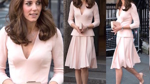 Kate Middleton ogląda swoje zdjęcie na wystawie (ZDJĘCIA)