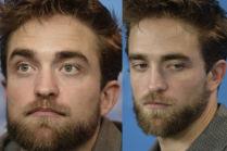 Zarośnięty Pattinson w Berlinie