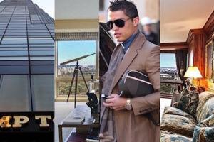 Tak wygląda nowojorski apartament Cristiano Ronaldo. Kosztował... 15 milionów dolarów! (ZDJĘCIA)