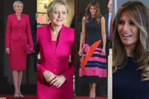 Pierwsze damy na spotkaniu w Warszawie: Melania Trump czy Agata Duda? (ZDJĘCIA)