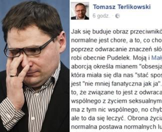 """Terlikowski odpowiada: """"Kolesi z Pudelka podnieca zabijanie"""""""