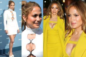 Biust Jennifer Lopez w Nowym Jorku! (ZDJĘCIA)
