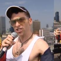 """Marek z """"M jak miłość"""" śpiewa... na dachu """"Dzień Dobry TVN""""!"""