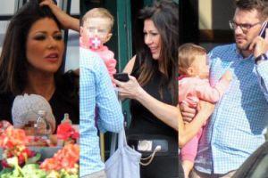 Iwona Węgrowska z córką i chłopakiem w restauracji (ZDJĘCIA)