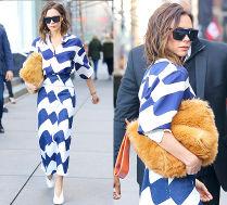 #TRENDY: Victoria Beckham z pluszową torebką