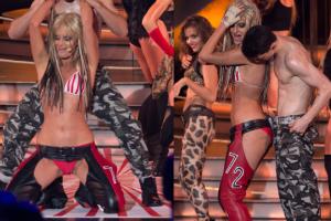 Półnaga Zborowska jako... Christina Aguilera!