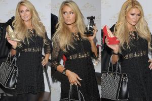 Paris Hilton pozuje z butami (ZDJĘCIA)