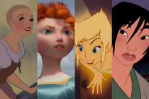 Księżniczki Disneya... z krótkimi włosami (ZDJĘCIA)