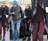 Chodakowska w kombinezonie w panterkę na mieście (ZDJĘCIA)