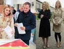 Kasia Tusk głosuje z rodzicami! (ZDJĘCIA)