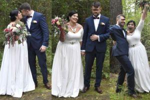 """Jurorka """"Supermodelki Plus Size"""" wzięła ślub! Ceremonia odbyła się w... lesie (ZDJĘCIA)"""
