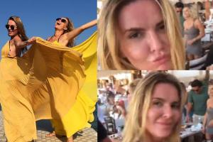Przetakiewicz, Lis i Jemioł tańczą na greckiej wyspie