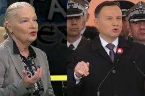"""Staniszkis krytykuje Dudę: """"Mam nadzieję, że za łamanie konstytucji czeka go Trybunał Stanu!"""""""