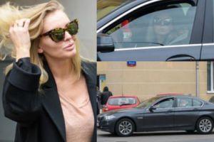 Iza Adamczyk w BMW za 200 tysięcy złotych (ZDJĘCIA)