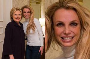 Britney Spears spotkała się z Hillary Clinton