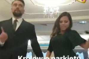 """Kwaśniewska z mężem: """"Królowie parkietu"""""""