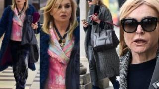 Monika Olejnik w dwóch stylizacjach z drogimi torebkami. Która lepsza? (ZDJĘCIA)