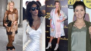 """Gwiazdy lansują """"piżamowy trend"""". Ofiary mody? (ZDJĘCIA)"""