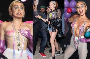 """Miley na koncercie była """"kokainową wróżką""""… (ZDJĘCIA)"""