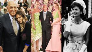 SŁAWNE KLIENTKI Oscara de la Renta: Od Jacqueline Kennedy do Sarah Jessiki Parker! (ZDJĘCIA)