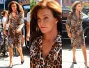 Macocha Kim w sukience w leopardzie cętki (ZDJĘCIA)