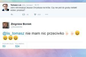 Lis chciał zaatakować Kaczyńskiego. Włączył się Boniek...