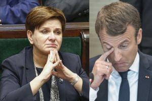 """Dziennikarze popierają Szydło krytykującą Macrona: """"NIKT NIE MÓWIŁ TAK OBELŻYWIE o Polsce od 1939 roku! Reakcja powinna być ZDECYDOWANA"""""""