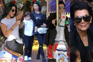 Kourtney Kardashian i Kris Jenner bawią się w Disneylandzie (ZDJĘCIA)
