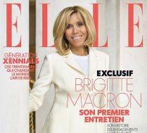 Brigitte Macron na okładce