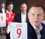 Andrzej Duda pozuje z Robertem Lewandowskim (ZDJĘCIA)