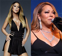 WYRETUSZOWANA Mariah Carey!