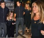 Uśmiechnięta Jennifer Aniston na kolacji z mężem (ZDJĘCIA)