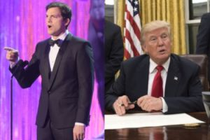 """Kutcher wściekły na Trumpa: """"MOJA ŻONA PRZYJECHAŁA TU JAKO UCHODŹCA w środku zimnej wojny!"""""""