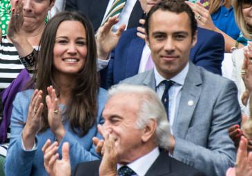 Pippa z bratem na Wimbledonie!