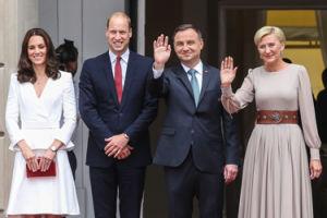 """""""The Guardian"""" o wizycie Williama i Kate w Polsce: """"Wkręceni w sankcjonowanie brzydkiego NACJONALIZMU POLSKI!"""""""