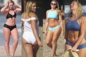 """""""Gigi Hadid XXL"""" pozuje w bikini. Seksowna? (ZDJĘCIA)"""