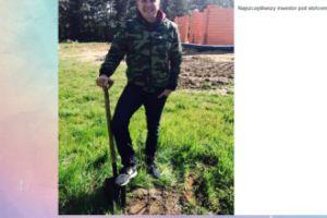 Filip Chajzer rozpoczyna budowę domu (FOTO)