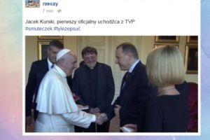 """Korwin Piotrowska: """"Pierwszy oficjalny uchodźca z TVP"""""""